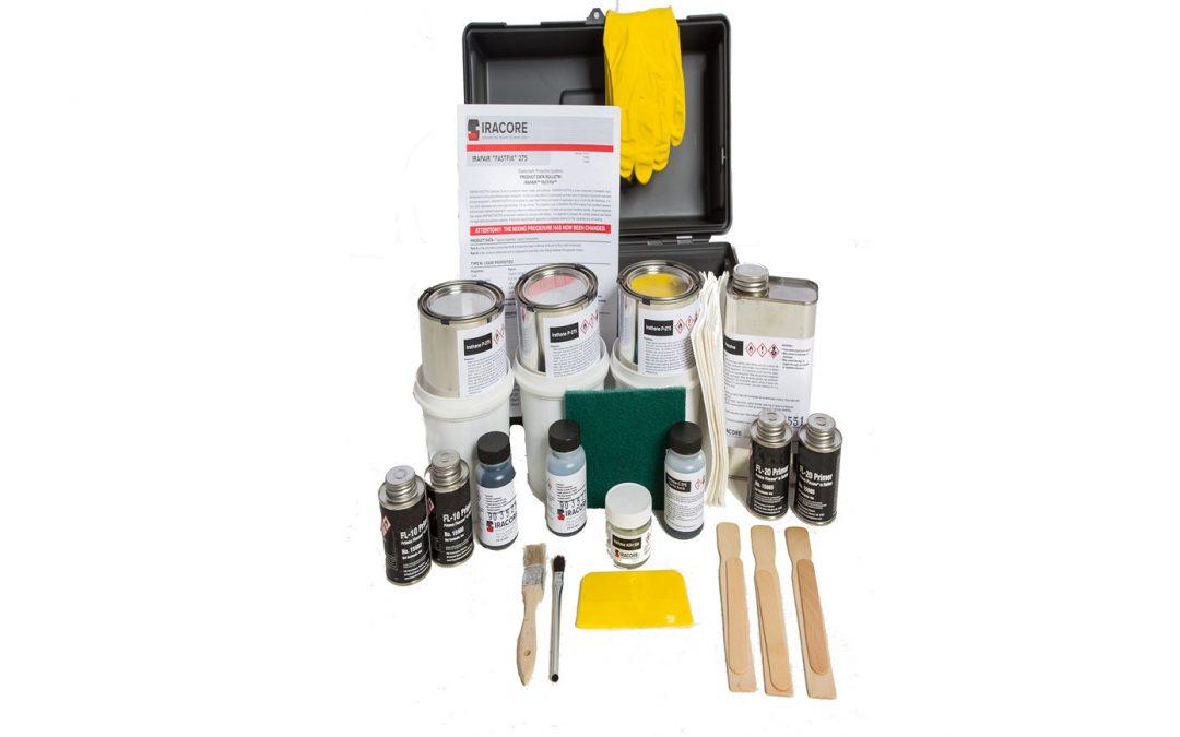 Using Iracore Repair Kits to Repair Urethane Liner