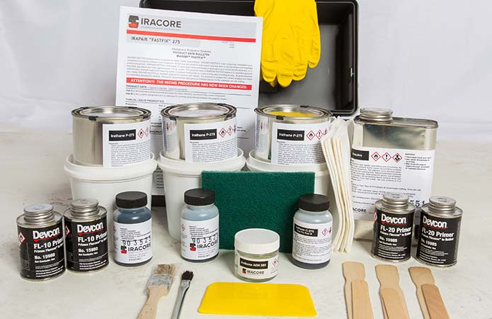 urethane lining repair kits