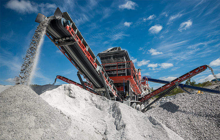 aggregate production wear materials